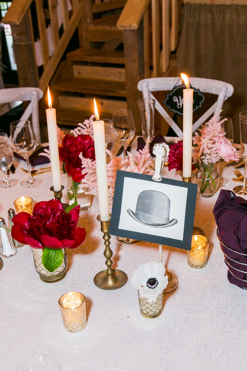 Eclectic Blush & Red New York Wedding via TheELD.com