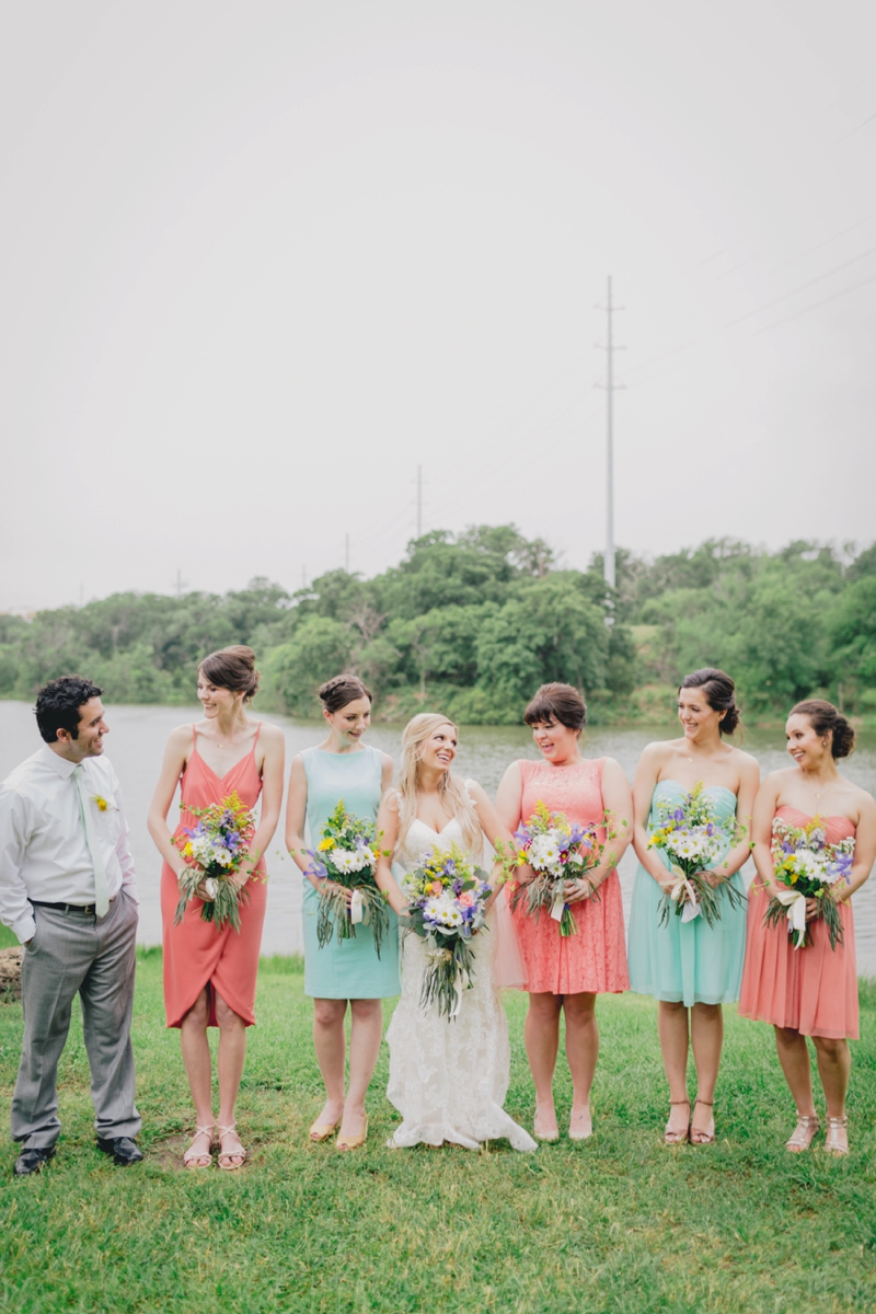 A Rustic Organic Dallas Wedding via TheELD.com