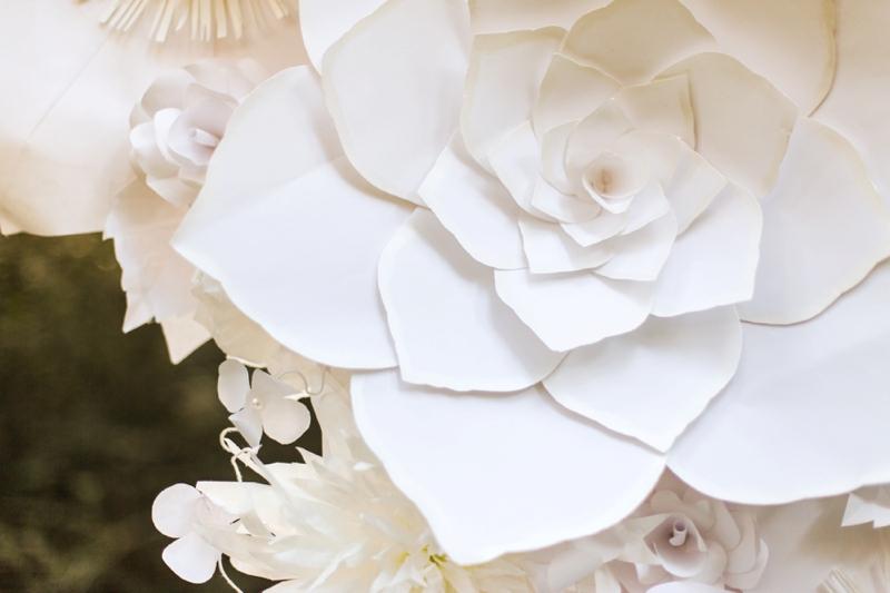 Green & White Fall Wedding Ideas via TheELD.com