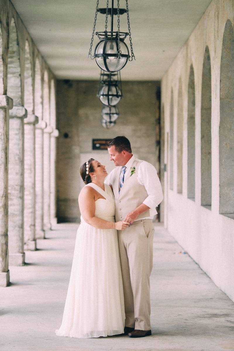 Red, White and Blue Wedding via TheELD.com