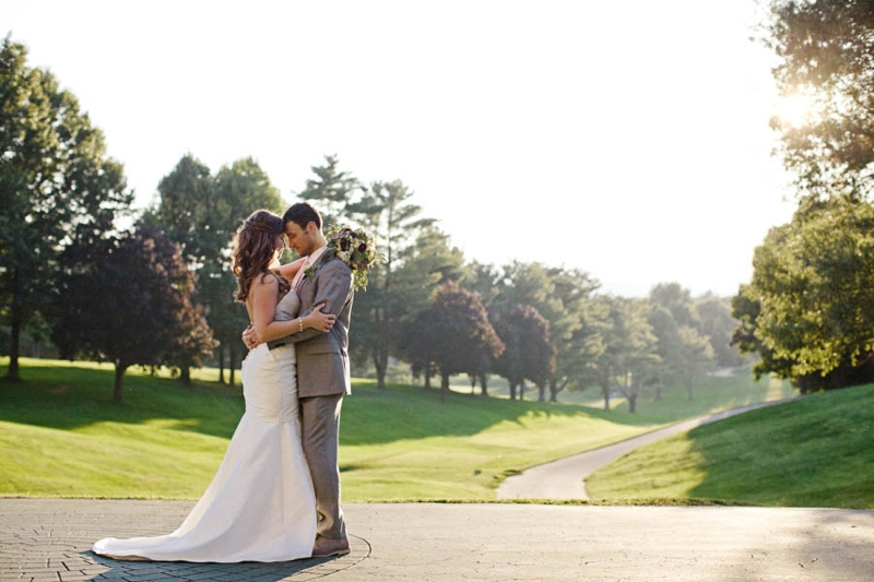 A Rustic Elegant Asheville Wedding via TheELD.com