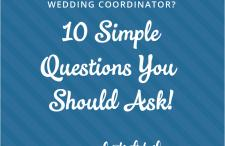 Wedding coordinator vs venue coordinator every last detail do you need a wedding coordinator 10 simple questions you should ask junglespirit Images