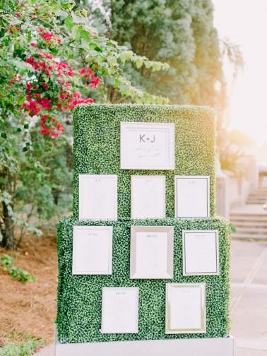 The Best Wedding Escort Cards & Displays of 2015 via TheELD.com