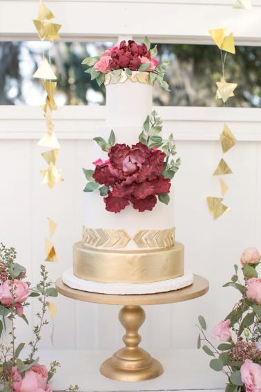 The Best Wedding Cakes of 2015 via TheELD.com
