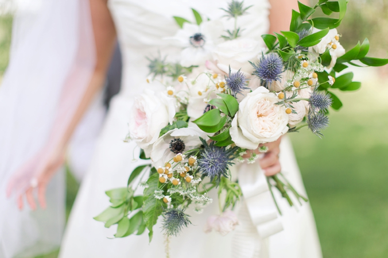 Rustic Elegant Navy and Blush Wedding via TheELD.com