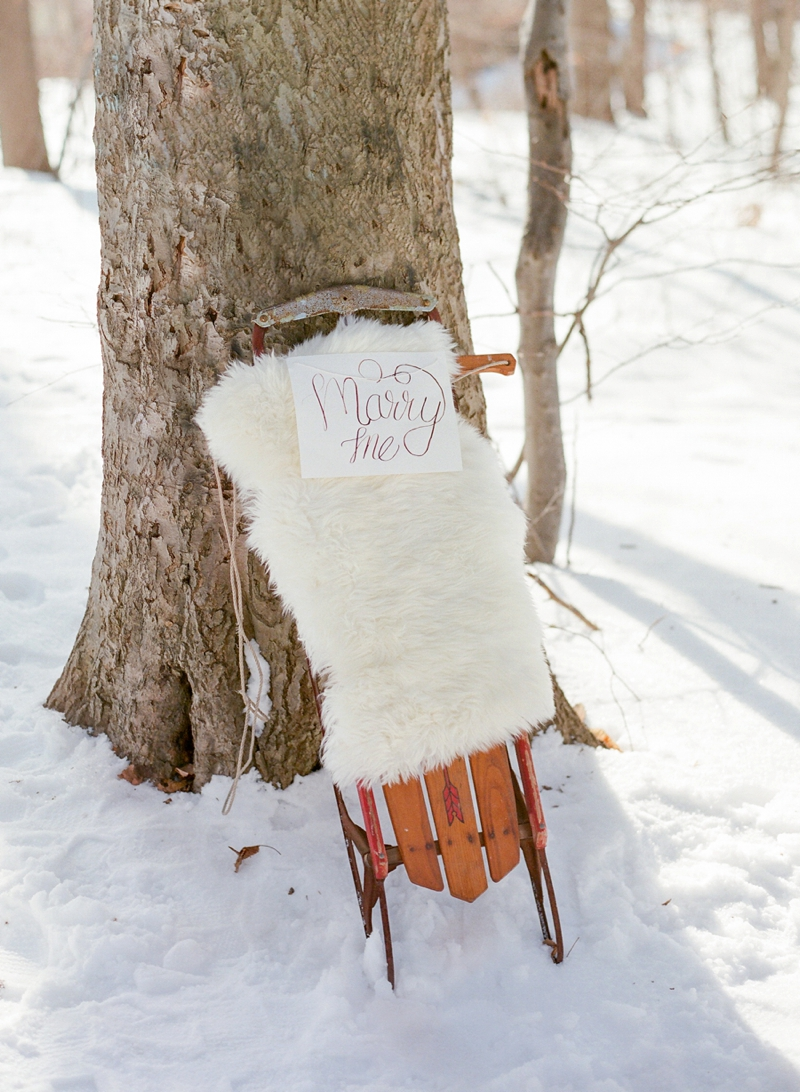 winter engagement party ideas | every last detail