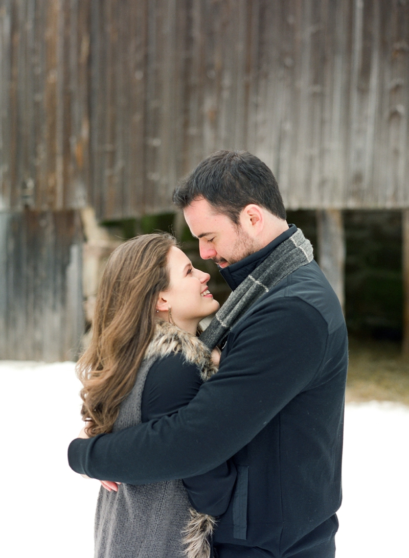 Winter Engagement Party Ideas via TheELD.com