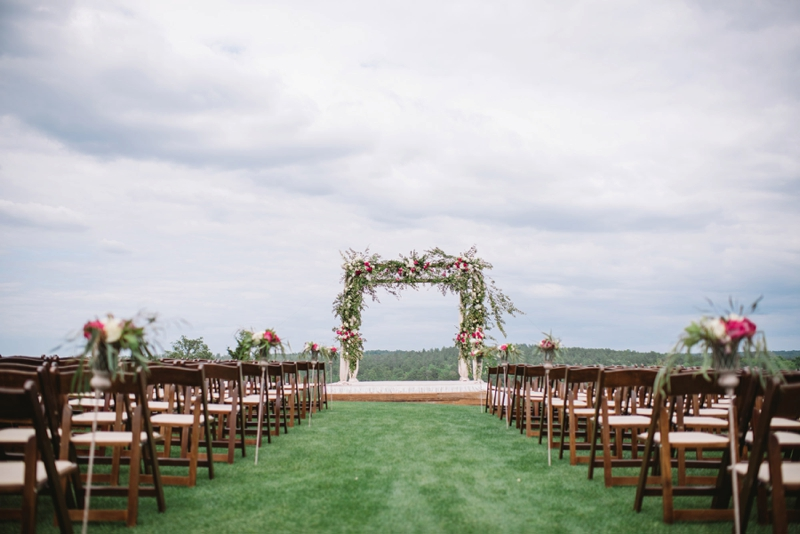 Elegant Pink South Carolina Wedding via TheELD.com