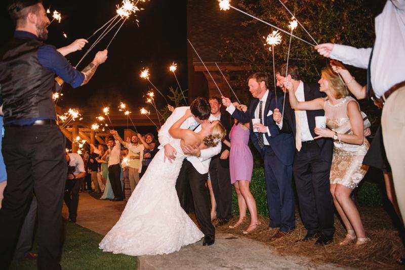 Elegant Pink South Carolina Wedding via TheELD.com