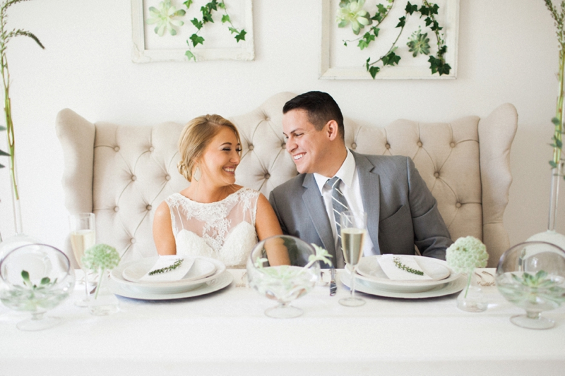 Fresh, Organic and Modern Wedding Ideas via TheELD.com