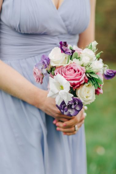 Vintage Elegant Lavender Wedding via TheELD.com
