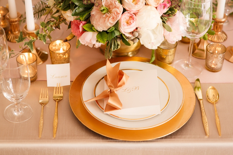 Timeless Blush And Gold Wedding Ideas Every Last Detail