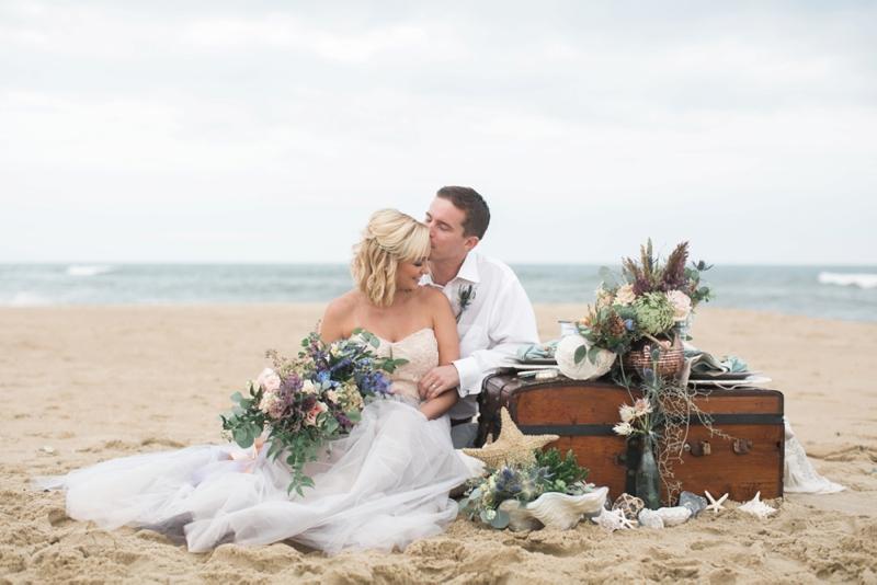 Eclectic Ocean Inspired Wedding Ideas via TheELD.com