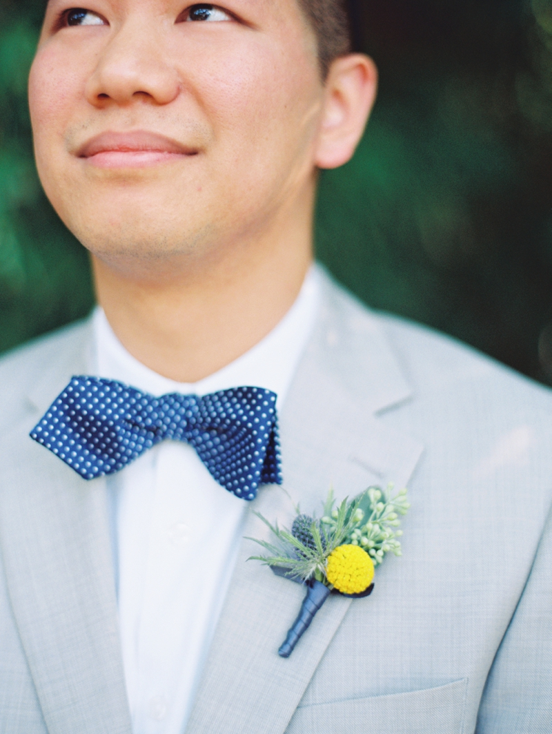 Eclectic Yellow and Blue Wedding via TheELD.com