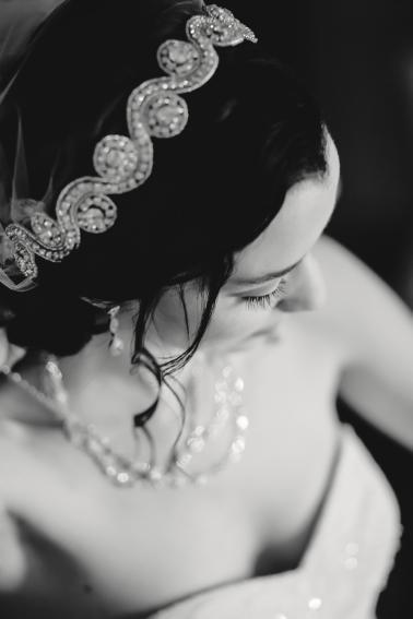Elegant 1920s Inspired Wedding via TheELD.com
