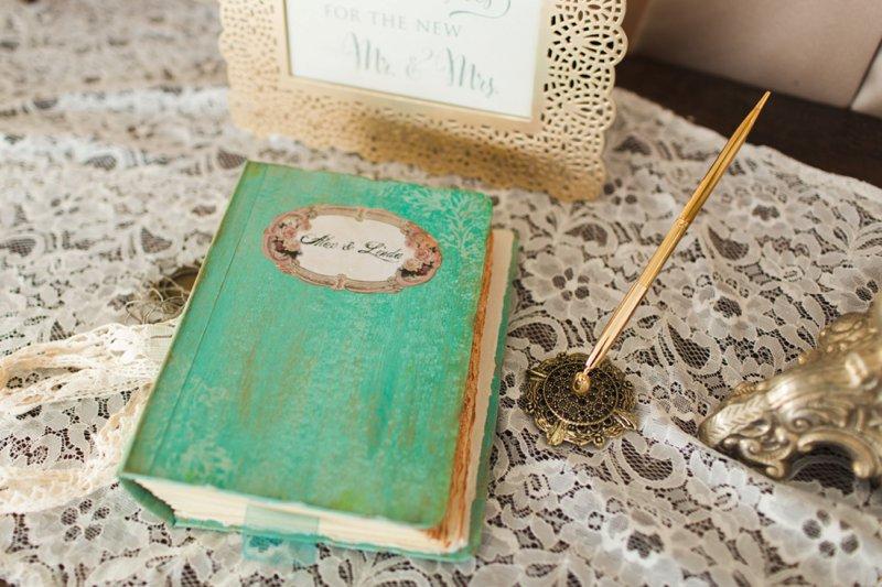 Elegant Garden Inspired New York Winery Wedding via TheELD.com