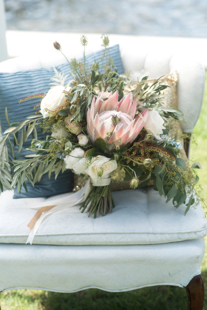 Ocean Inspired Wedding Ideas via TheELD.com