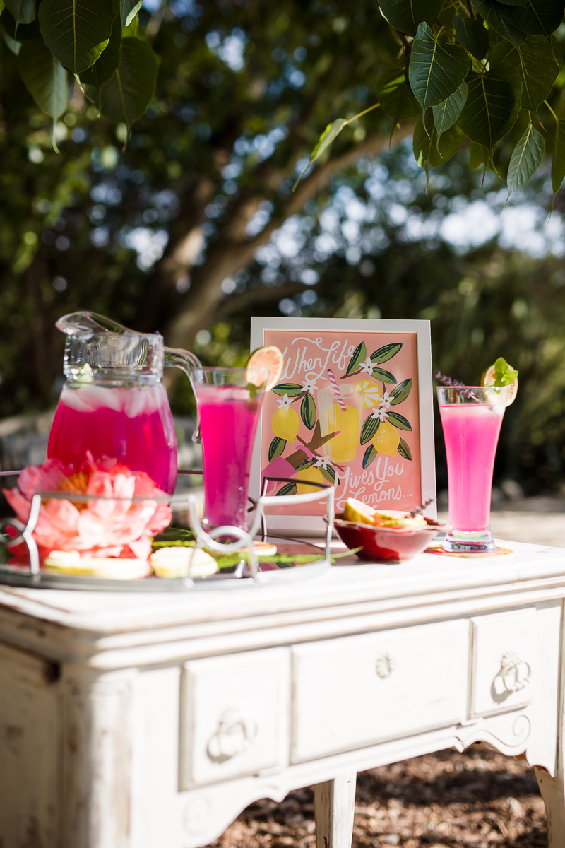 Botanical Bridal Shower Ideas via TheELD.com
