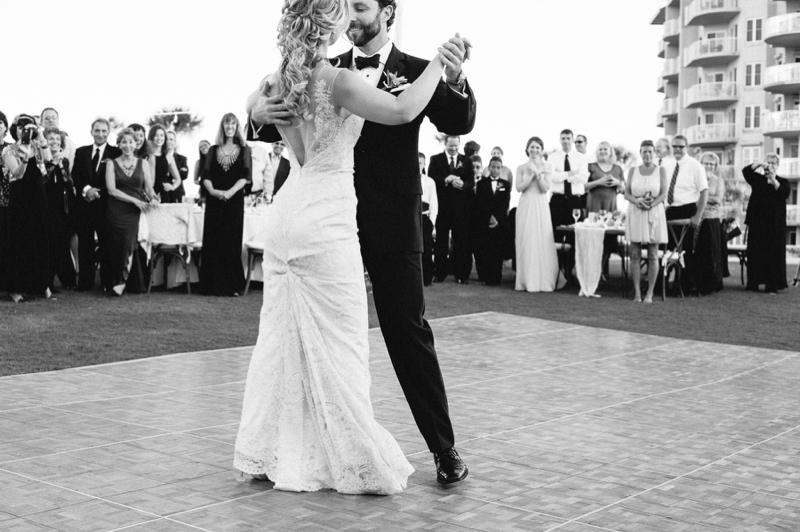 Romantic Blush Amelia Island Wedding via TheELD.com