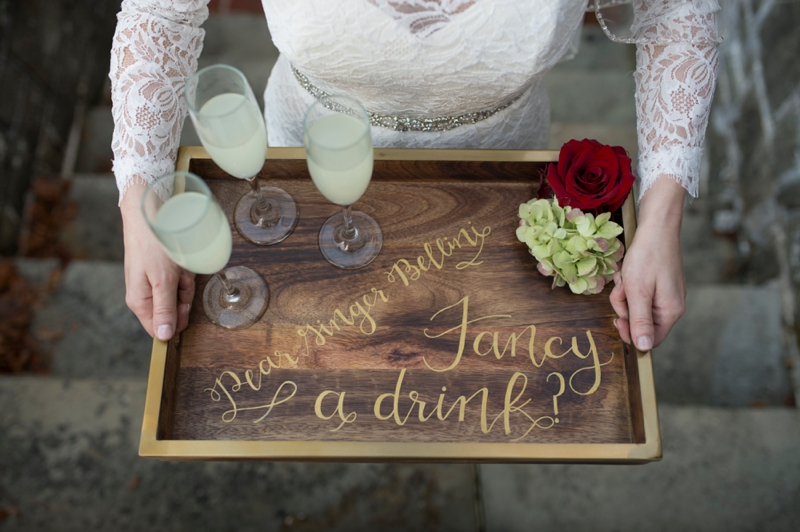 Romantic & Elegant Red Wedding Ideas via TheELD.com