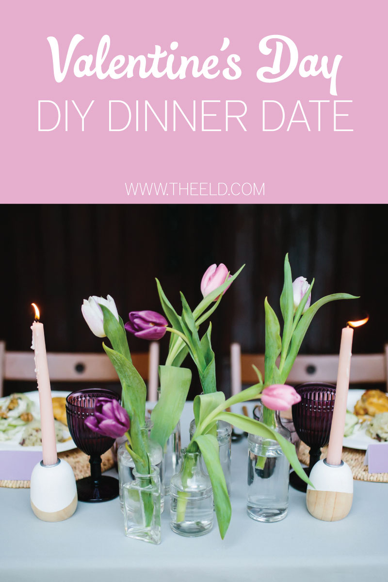 Valentines Day DIY Dinner Date via TheELD.com