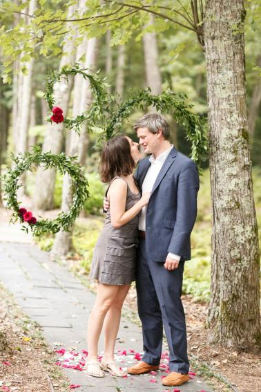 Valentines Day Wedding Inspiration via TheELD.com