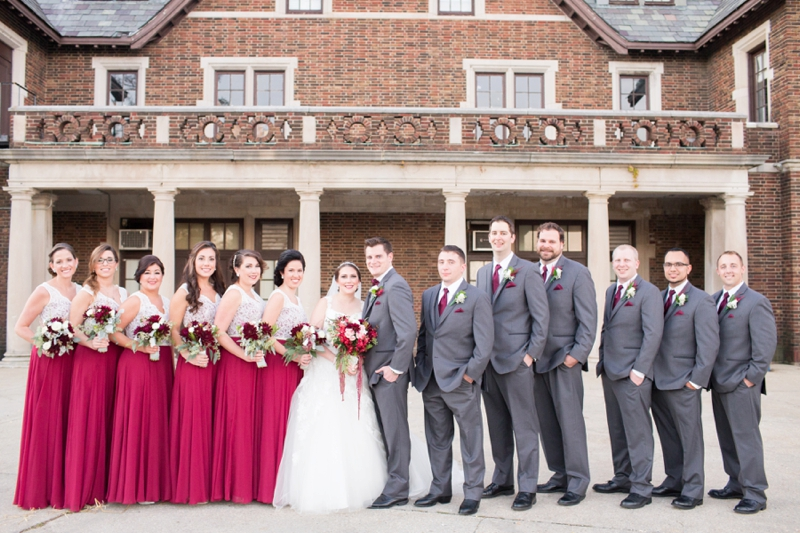 A Vintage Glam Champagne & Red Wedding | Every Last Detail