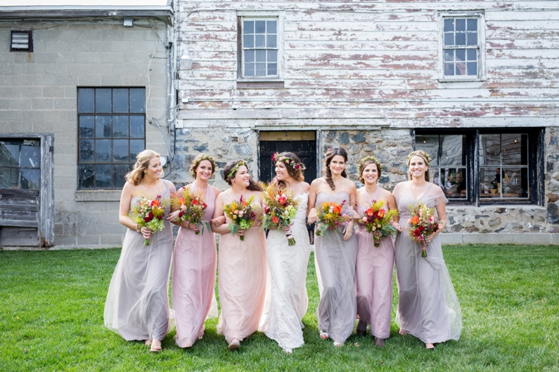 wedding ideas bridesmaids a rustic boho wedding in new york every last detail 27929