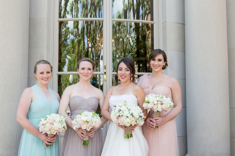 Classic & Elegant Blush DC Wedding via TheELD.com