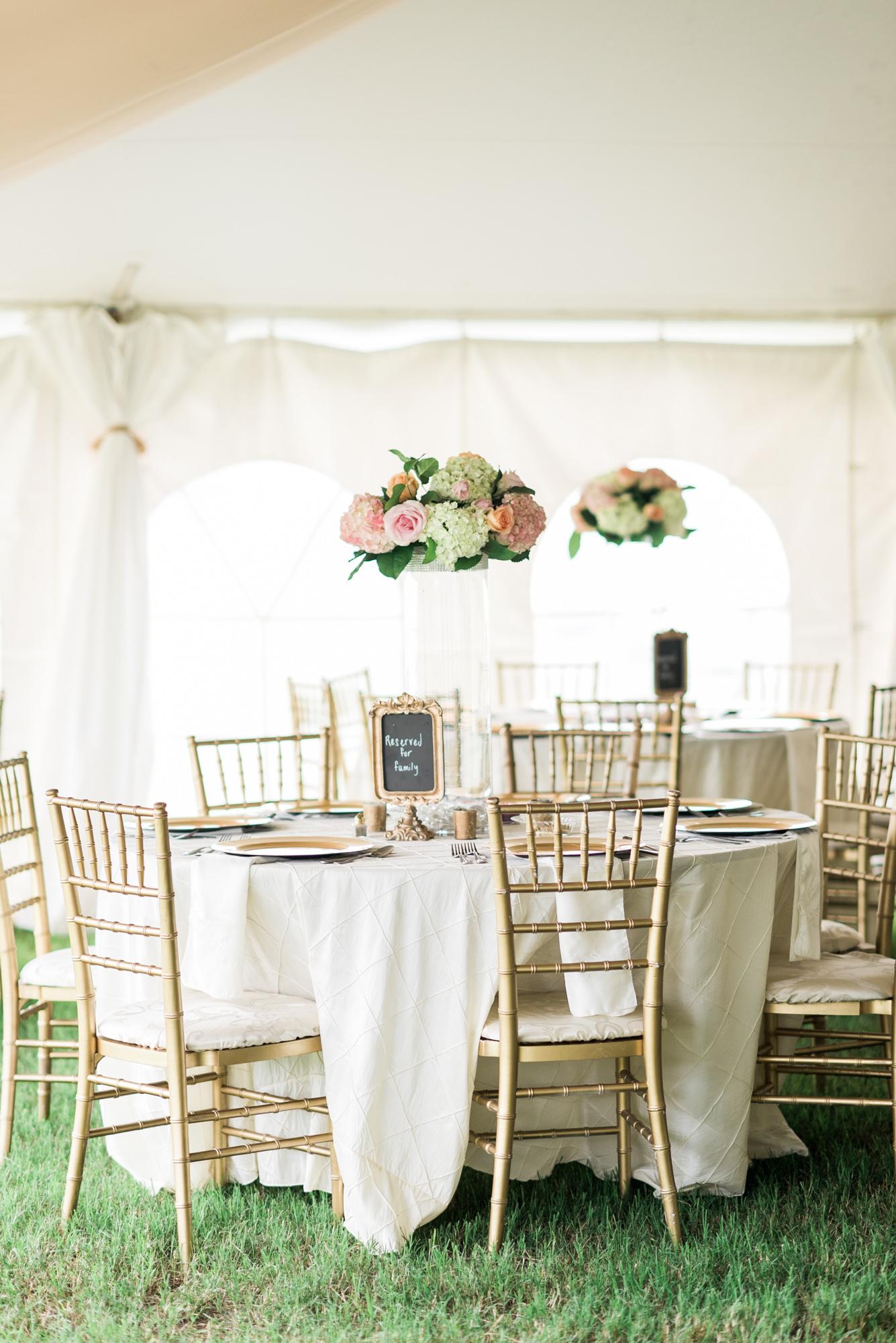 An Elegant Blush Backyard Wedding | Every Last Detail