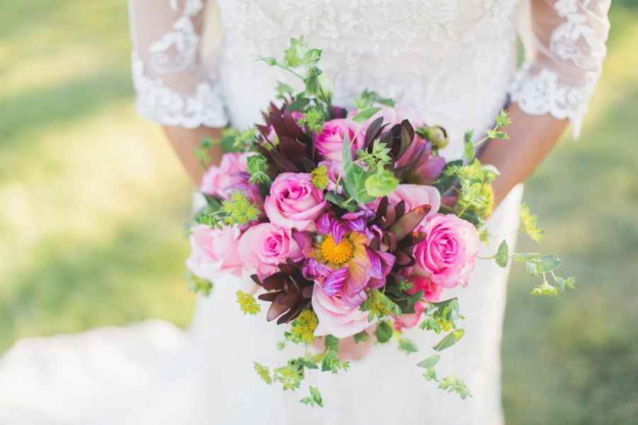 Pink Boho Wedding Ideas With a Southwest Flair via TheELD.com