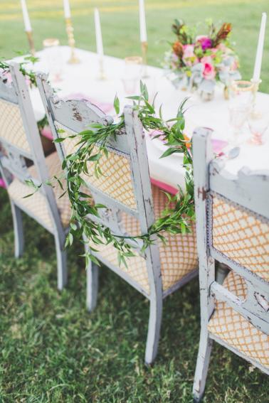 Pink Boho Wedding Ideas With a Southwest Flair via TheELD.com