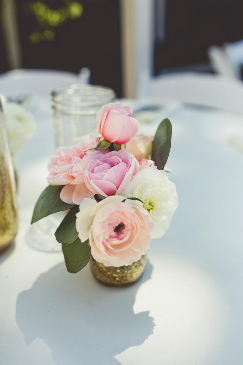 Eclectic Blush & Mint California Wedding via TheELD.com