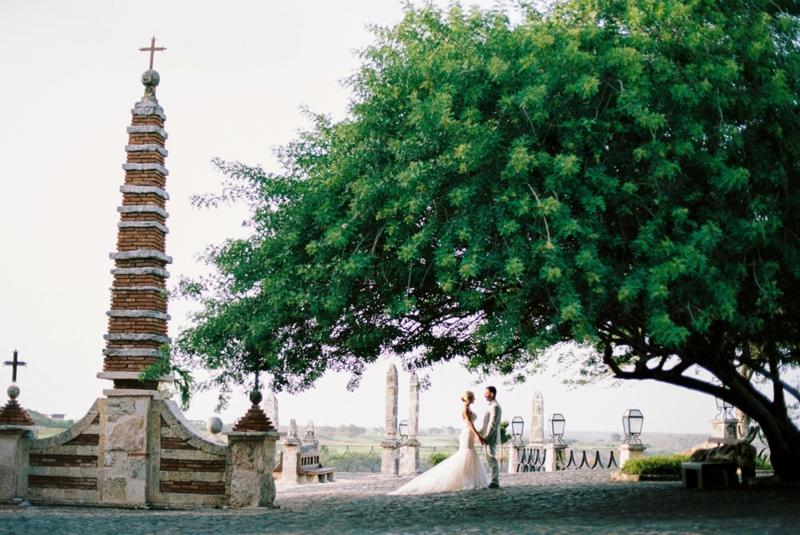 An Eclectic Punta Cana Wedding via TheELD.com