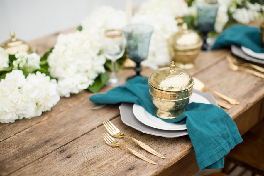Romantic Teal, Blue, and White Wedding Ideas | Every Last Detail