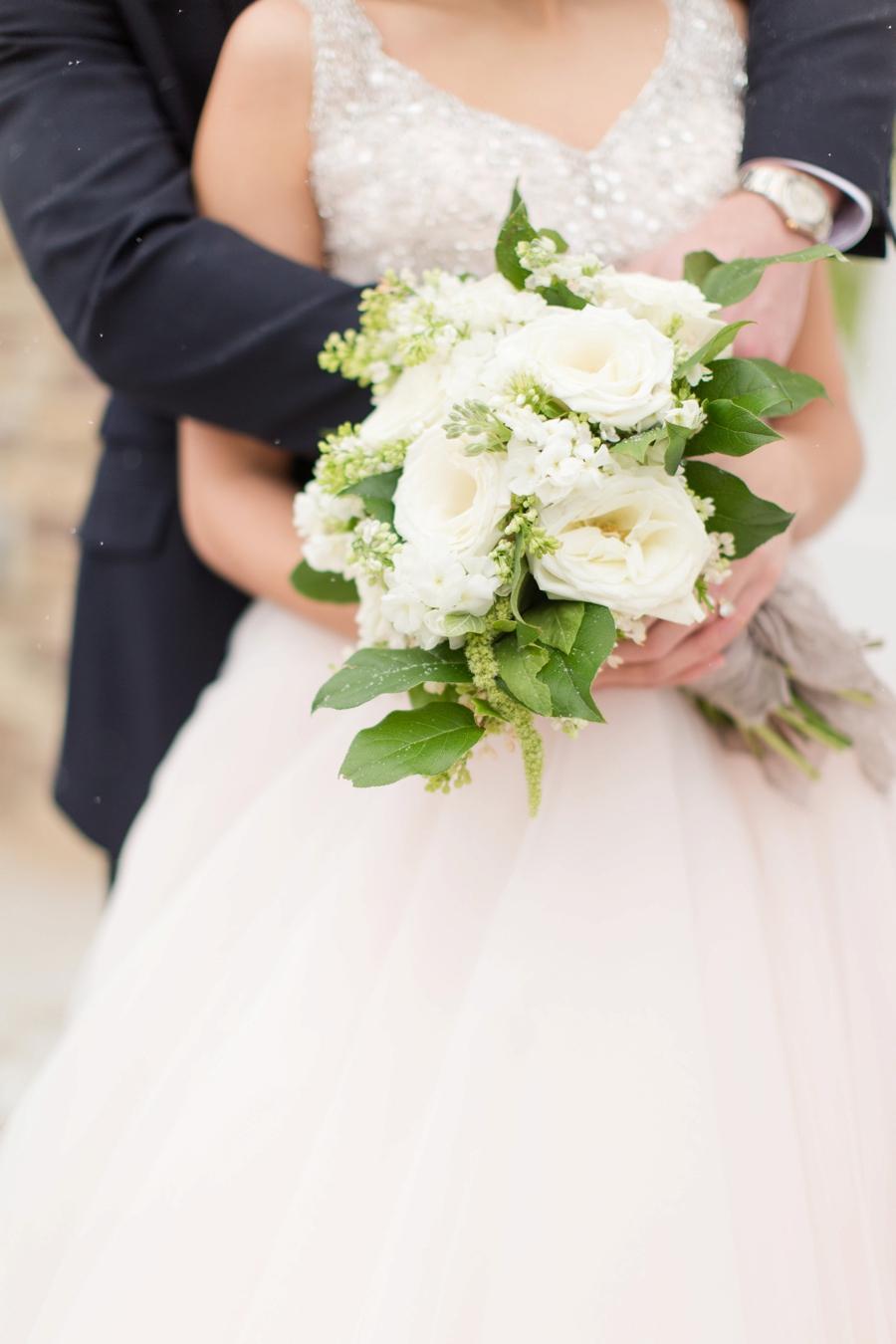 Romantic Teal, Blue, and White Wedding Ideas via TheELD.com