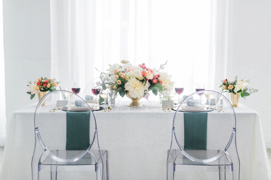 Modern Romantic Wedding Ideas Inspired By Aisle Society Via TheELD