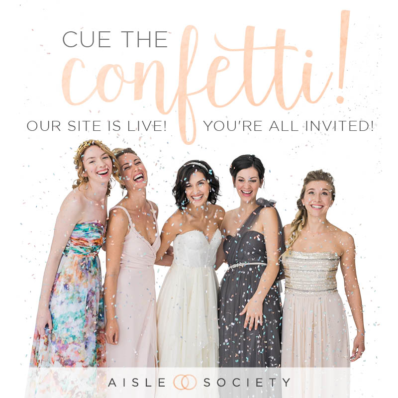 Aisle Society: An All New Way To Find Wedding Inspiration via TheELD.com