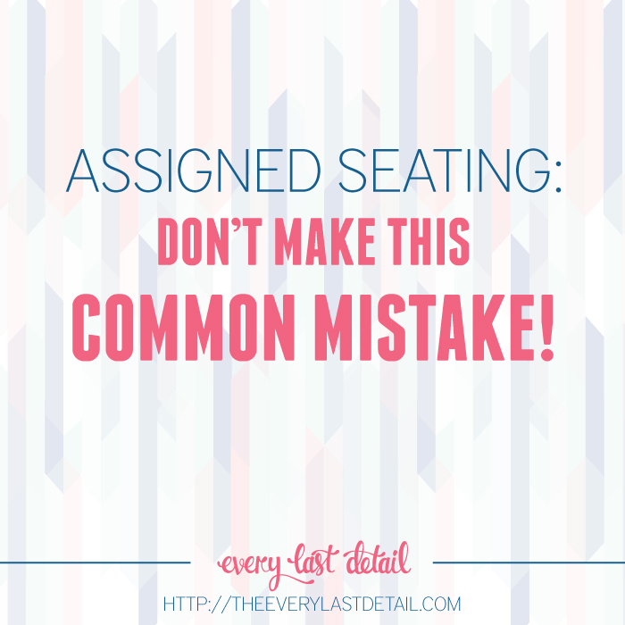 Assigned Seating: Dont Make This Common Mistake! via TheELD.com