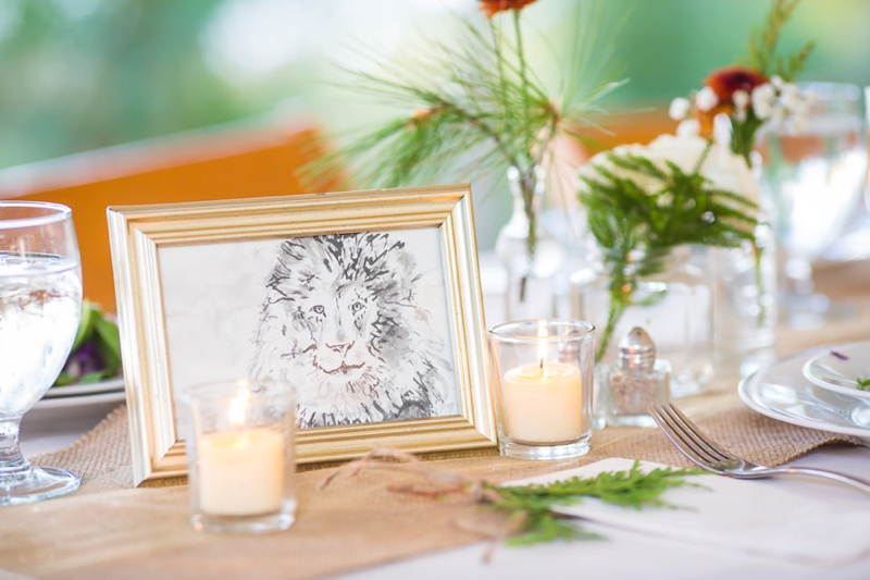Nature Inspired Rustic New York Wedding via TheELD.com