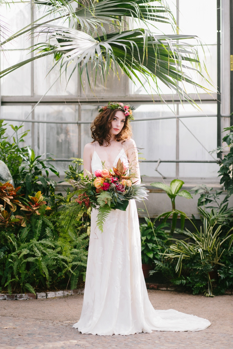 Boho & Tropical Inspired Wedding Ideas via TheELD.com