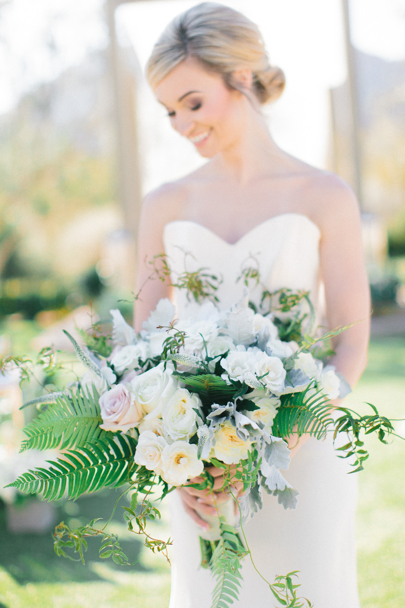 Modern Romantic Green & White Wedding Ideas | Every Last Detail