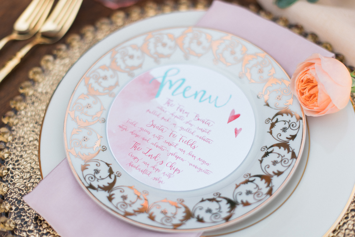 Romantic Arizona Inspired Wedding Ideas via TheELD.com