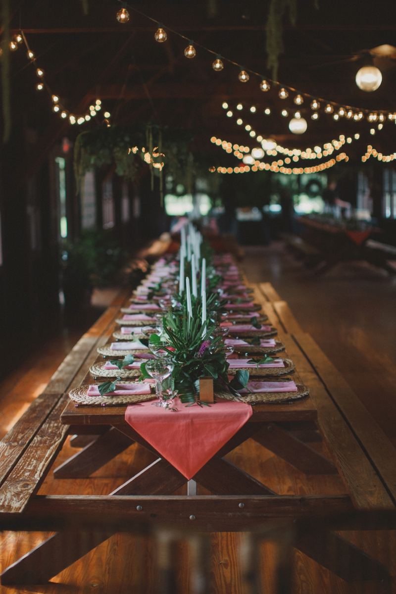 Florida Inspired Boho Eclectic Wedding via TheELD.com