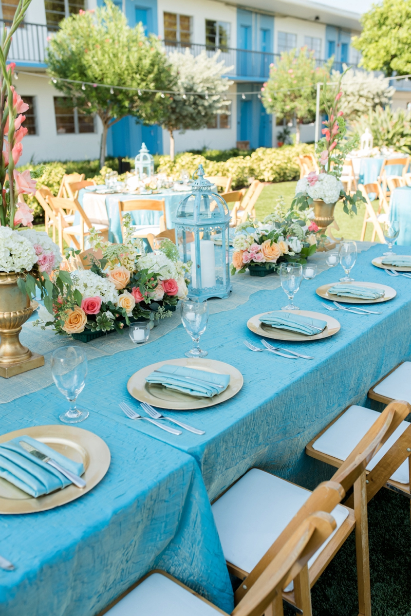 Coral & Turquoise St. Pete Beach Wedding via TheELD.com