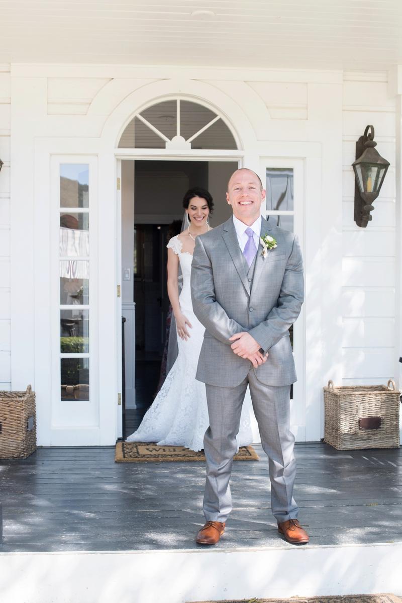 An Intimate California Vineyard Wedding via TheELD.com