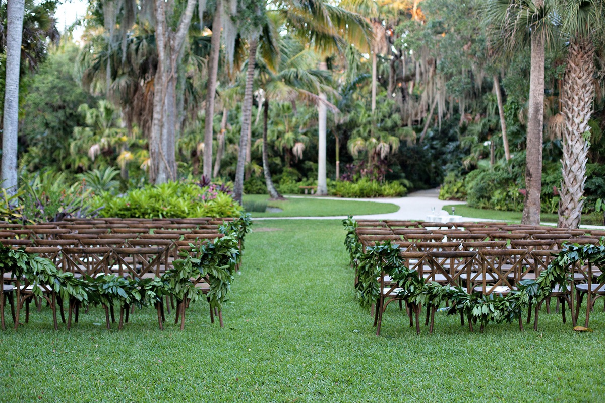 Pink & Gold Rustic Garden Wedding via TheELD.com