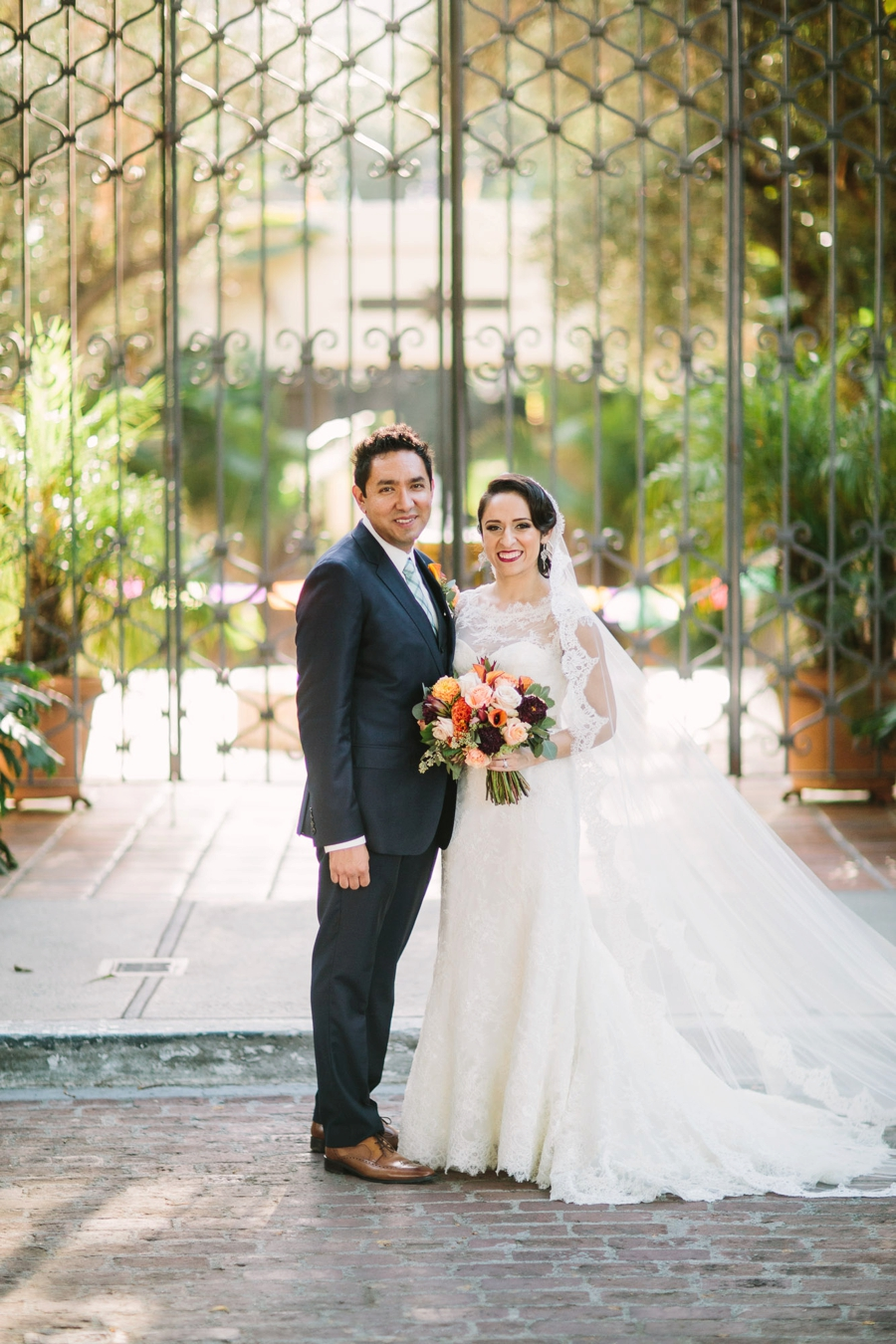 A Colorful Fiesta Inspired Los Angeles Wedding via TheELD.com