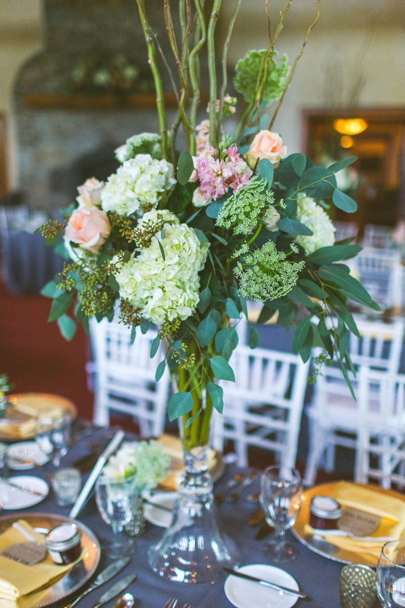 A Vintage Elegant North Carolina Wedding via TheELD.com