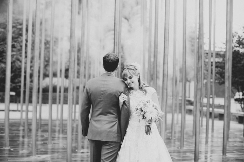 An Eclectic Wes Anderson Inspired Wedding via TheELD.com